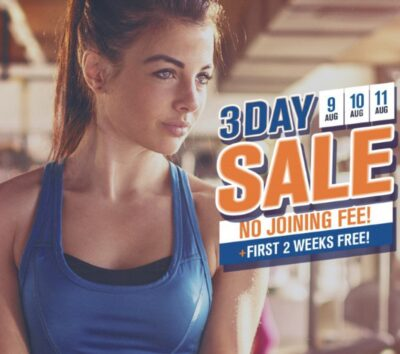 Plus Fitness 3 Day Sale August 2021